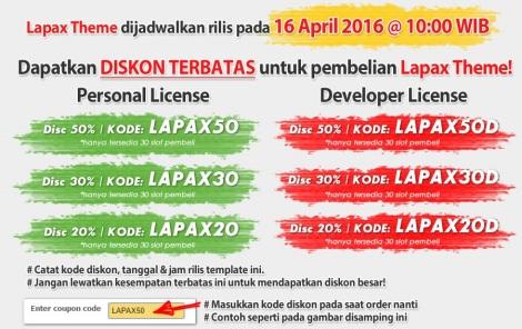diskon lapax theme